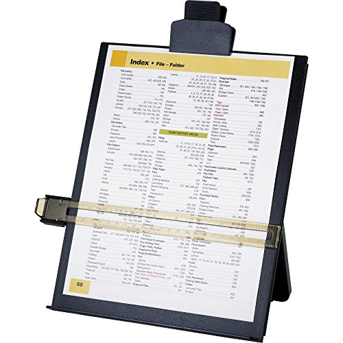 Business Source Easel Copy Holder Black