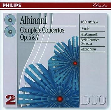 Albinoni: Complete Concertos Op.5 & Op.7