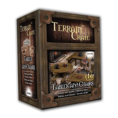 Mantic Games - TerrainCrate - Tables and Chairs