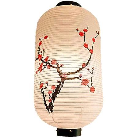 OSALADI Papierlaterne Licht Runde Faltbare Chinesische//Japanische H/ängende Kugellampe Laterne mit Quaste f/ür Festivalhochzeitsfeier 30Cm Rosa Pfirsichbl/üte