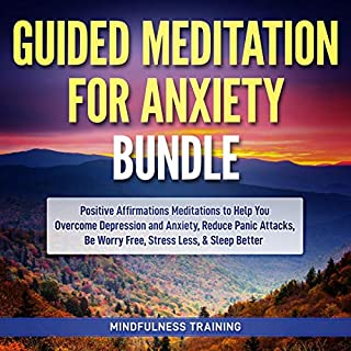 Guided Meditation for Anxiety Bundle cover art