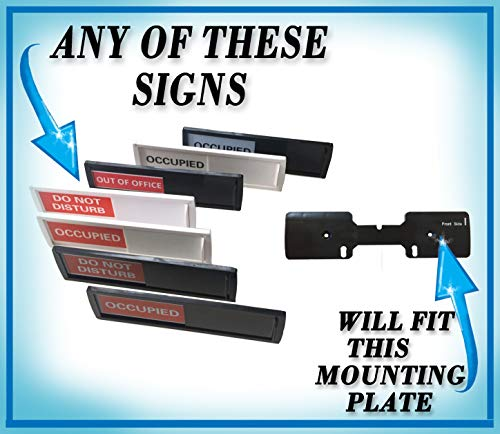 Privacy Sign (Do Not Disturb Sign, Restroom Sign, Office Sign, Conference Sign, Vacant Sign, Occupied Sign) - Tells Whether Room in Vacant or Occupied Photo #7