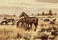 LHJOY 大人のための難しいジグソーパズル500個動物の古代動物子供のための誕生日プレゼントとホリデーギフト 52x38cm