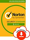 Norton Security Standard | 1 Device | Antivirus included | PC|Mac|iOS|Android | Auto-Renewing yearly subscription