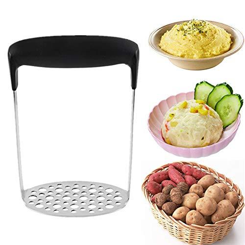 Lancoon Kartoffelstampfer Kartoffelpresse Edelstahl Glatte Drücken Obst Gemüse Macht Tools KT23