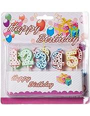 شمع MJM7038 من هابي تويز - عيد ميلاد سعيد
