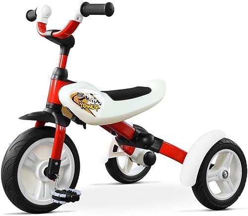 Dreirad, Kinderwagen Kinderwagen 3-5 Jahre alt Kinder Kind Wagen Rad Fahrrad Familie tragbare 50  60  70 cm ( Farbe    1 )