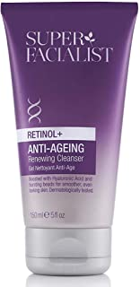 Super Facialist Retinol+ Anti-Ageing Renewing Cleanser 150 ml. Boosted with Hydrating Hyaluronic acid promotes smoother an...
