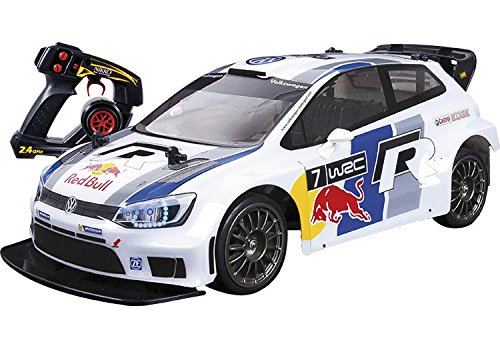 Nikko R.C. VOLSWAGEN Polo Red Bull WRC 1:14