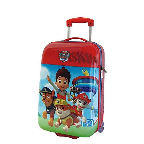 Tsum Tsum Paw Patrol Maleta de Cabina Rígida, 26 Litros, Color Rojo