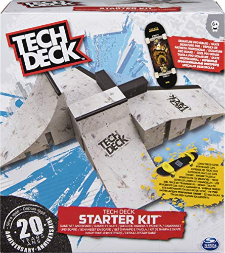 Tech Deck 6027522 Starter Kit - Modelo Aleatorio