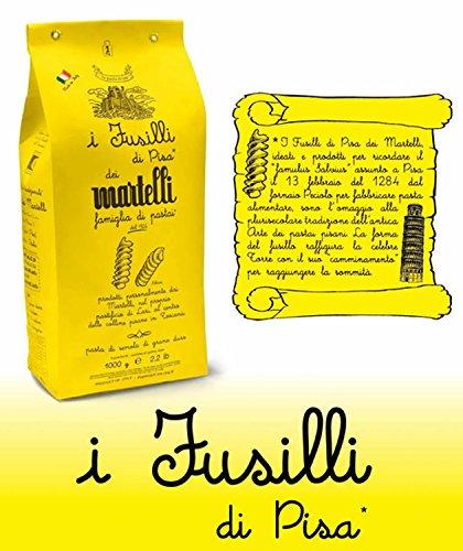 Fusilli di Pisa 1 kg. - Pasta Martelli - Pastificio Tradizionale Famiglia Martelli
