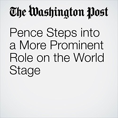 Pence Steps into a More Prominent Role on the World Stage copertina