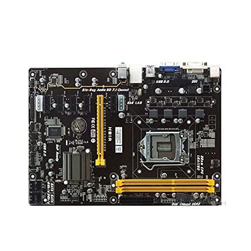 SYFANG Placa Base Fit for BIOSTAR H81A 1150 Intel H81 Mine Board 1150 DDR3 16GB DDR3 H81 Placa Base de Escritorio