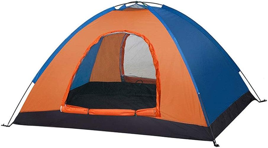 WWW 2 Personnes en Fibre De Verre Rod Sports EquipHommest Mountain Camping Supplies Double Couche Tente