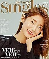 IZ*ONE Eunbi,Min Joo/SINGLES 1月号2021年【4点構成】本册+IZ*ONEポスター+IZ*ONEはがき2枚/韓国雑誌/アイズウォンウンビ、民主/K-POP/KPOP