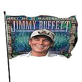 VirgieBSmith Jimmy Buffett Meet Me in Margaritaville Garden Flag,Garden Sign,Party,Decoration Flag,3X5 Ft Flags