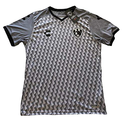 Club DE CUERVOS Away Official Jersey Grey