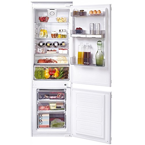 Candy Ckbbs 172 Ft encastrable 250 L A+ Blanc réfrigérateur avec congélateur