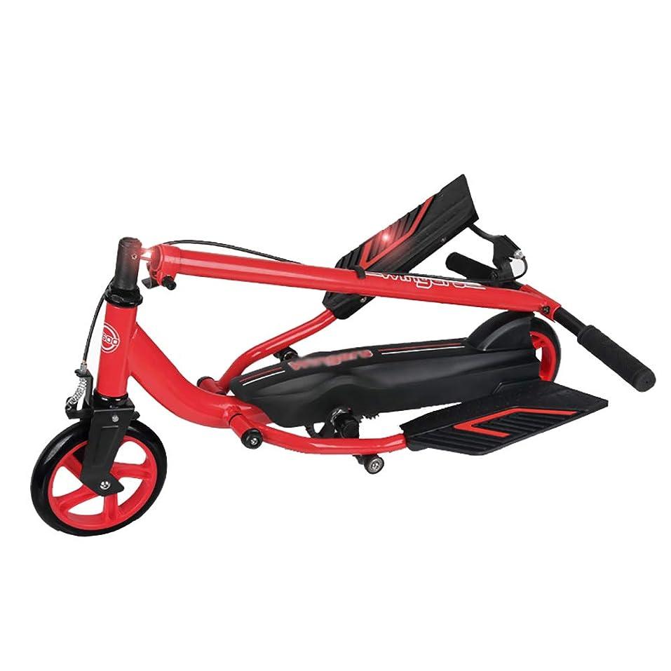 ではごきげんよう気性大学院キックボード本体 調節可能なハンドル、折り畳み式の大人のキックスクーター、PUホイール&ハンドブレーキ付きティーンスタントスクーター、70g荷重、身長175cm未満の子供に最適