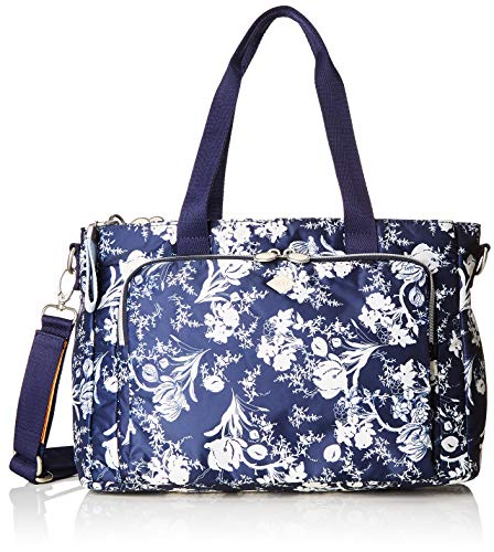 Oilily Damen Groovy Diaperbag Mhz Tote Blau (Dark Blue)