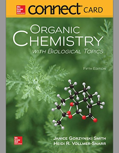 Connect 2 Year Access Card for Organic Chemistry with Biological Topics