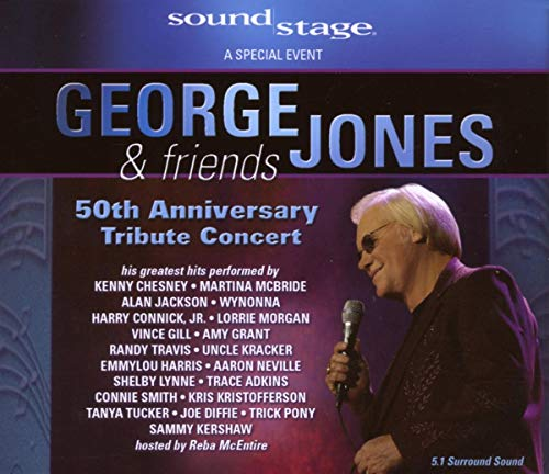 George Jones and Friends: 50th Anniversary Tribute Concert [DVD] [2008]
