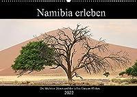 Namibia erleben (Wandkalender 2022 DIN A2 quer): Namibia: Eindrucksvolle Landschaften eingefangen auf ueber 4.000 Reisekilometern. (Monatskalender, 14 Seiten )