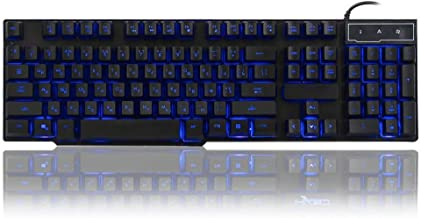 DADUIZHANG Profession Game Mechanical USB Wired 105 Keys Illuminated Al Gaming Office Keyboard with Led Adjustable Backlight Black