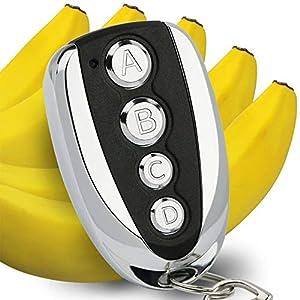 Almencla 433.92 Llaves De Control Remoto De Puertas De Garaje El/éctricas Y C/ódigo De Balanceo para TX4