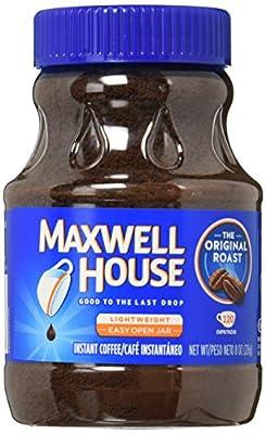 Maxwell House Original Roast Instant Coffee (8 oz Jars, Pack of 3)