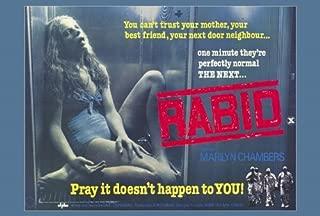 Rabid Poster Movie B 27x40 Marilyn Chambers Frank Moore Joe Silver
