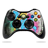 MightySkins Skin Compatible with Microsoft Xbox 360 Controller - Twisted Wonderland | Protective, Durable, and Unique Vinyl wrap Cover | Easy to Apply, Remove, and Change Styles | Made in The USA