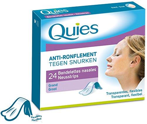 24 bandelettes anti-ronflement nasales
