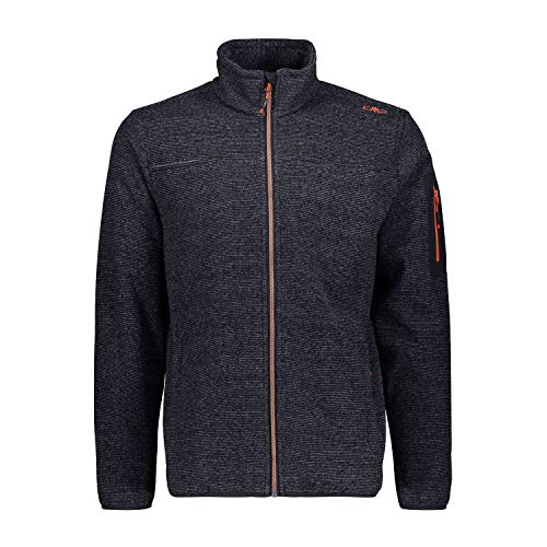 CMP Herren Fleecejacke Man Jacket 38H2237 Antracite-Grey 60