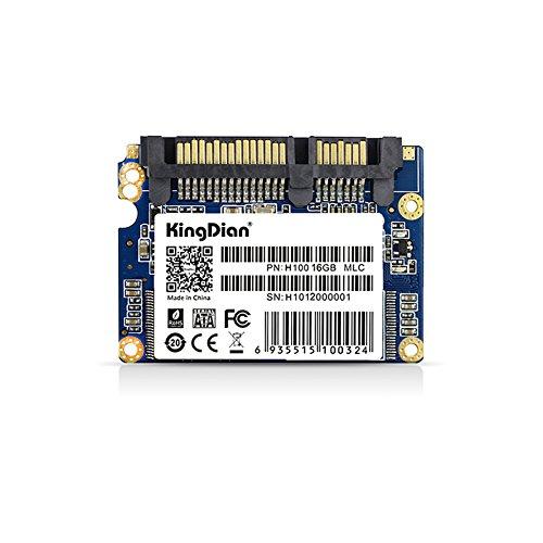 KingDian 1.8-inch Half Slim SATAII H100 8GB 16GB 32GB with 3Gb /s SSD Internal Solid State Drive (H100 16GB)