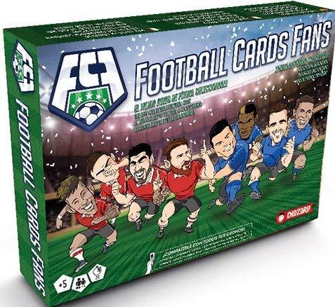 DLAZARO Football Cards Fans, Juego de fútbol Compatible con Todos los cromos...