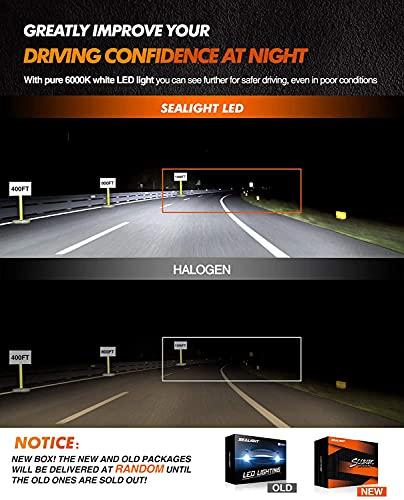 SEALIGHT H4/9003/HB2 LED Headlight Bulbs
