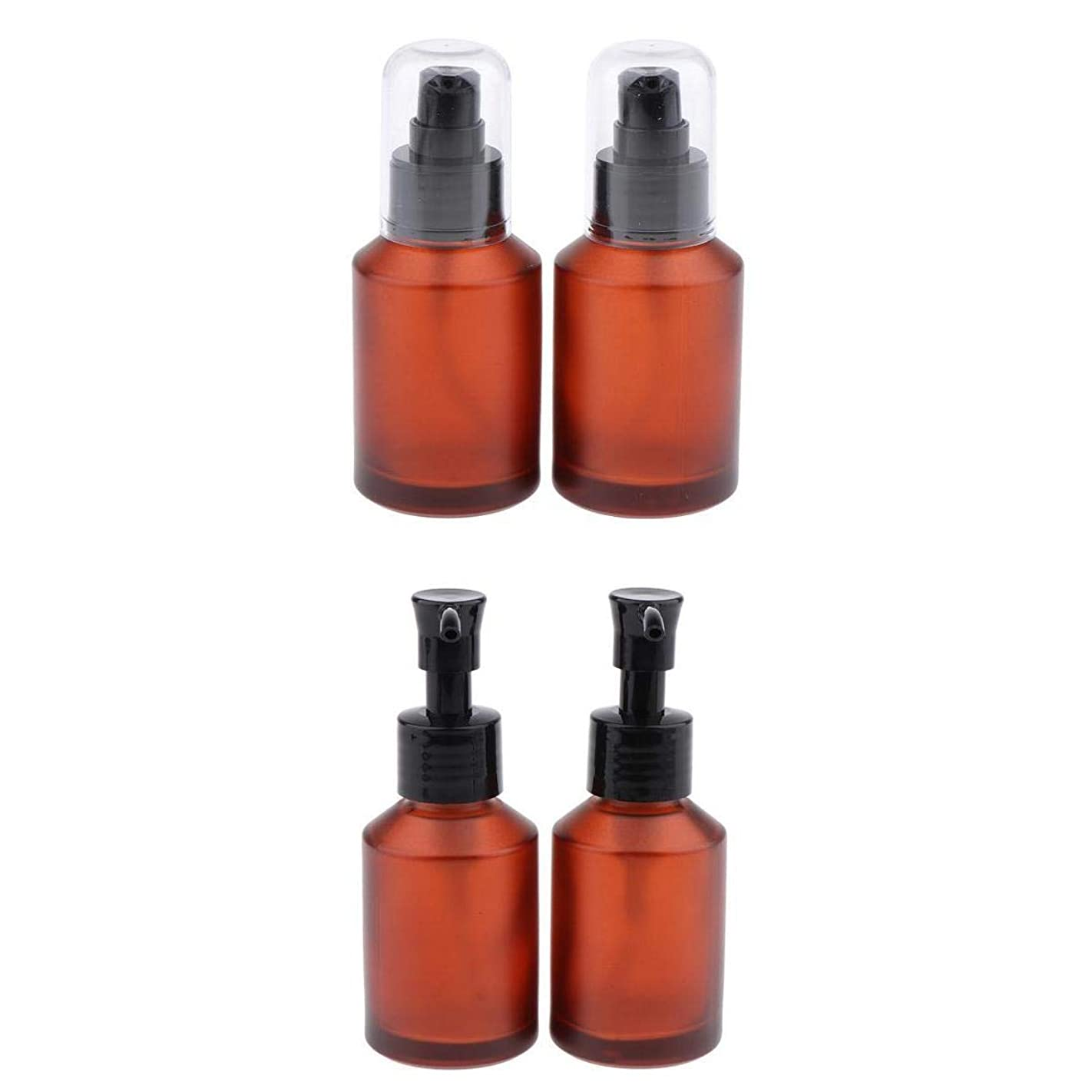 スピーカー分離医師T TOOYFUL 4個セット スプレーボトル スポイト瓶 遮光瓶 ガラス製 精油瓶 詰め替え アロマ保存容器 小分け用