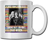 Hocus Pocus I Just Took A DNA Test Turns Out Im 100% That Witch Coffee Mug Ceramic Cup Gift for Men Women Who Love Mug