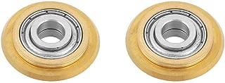 XMHF Titanium Coating Tungsten Carbide Tile/Glass Cutter Wheel Replacement 2pcs