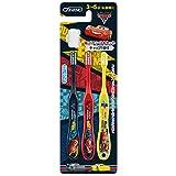 スケーター 歯ブラシ 園児用 (3-5才) 毛の硬さ普通 3本組 カーズ3 クロスロード ディズニー 14cm TB5T