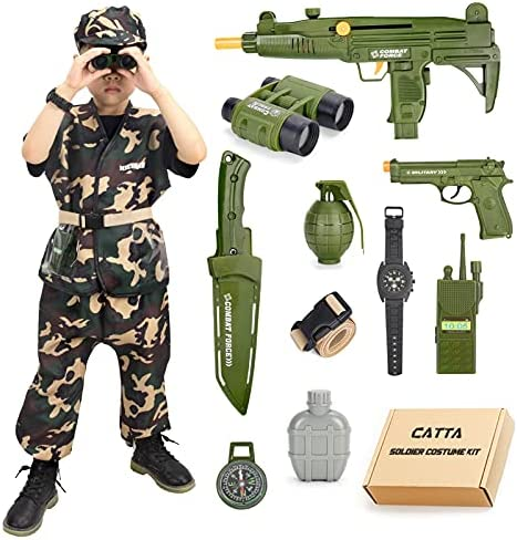 Military halloween costumes for kids