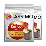 Tassimo Kenco Colombian 16 T-Discs (Pack of 2)
