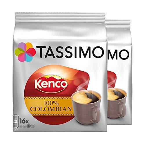 Tassimo Kenco Colombian T-Discs, 16 Stück, 2 Stück