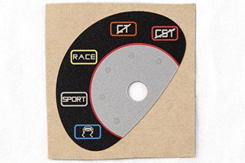 MAcarbon Ferrari 458 (2010-2012) Manettino Switch Sticker