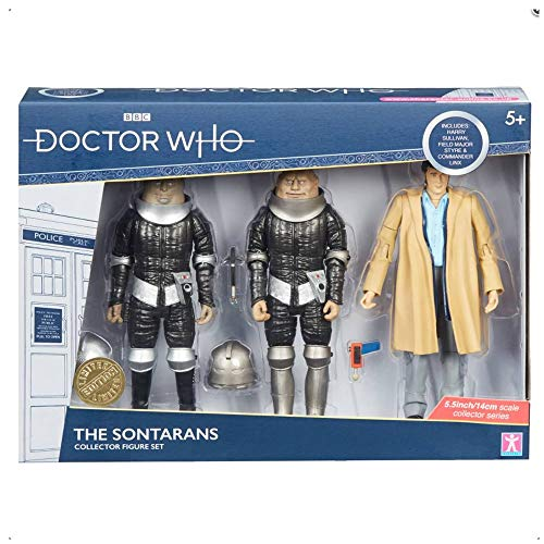 Doctor Who Collectible Action Figures The Sontarans Set Limited Edition