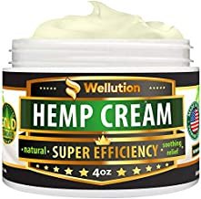 Hemp Cream 3,000,000 Super Efficiency - Natural Seed Oil Extract - Extra Strength Massage Lotion with Arnica, Menthol and Natural Oils