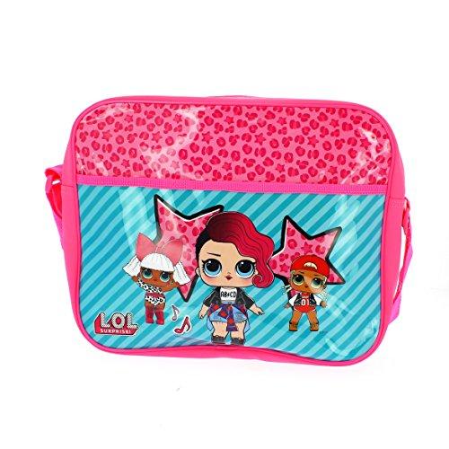 LOL Surprise - Messenger Bag | Schultasche | Schultertasche für Mädchen | Glam Club | LOL Dolls