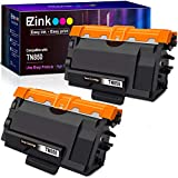 E-Z Ink (TM) Compatible Toner Cartridge Replacement for Brother TN850 TN 850 TN-850 TN820 TN 820 TN-820 to use with MFCL5900DW (2 Black, High Yield)